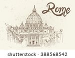 Sketch Of St. Peter's Basilica...