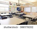 empty school classroom | Shutterstock . vector #388578202