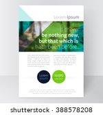 brochure  leaflet  poster... | Shutterstock .eps vector #388578208