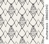 creative boho seamless abstract ... | Shutterstock .eps vector #388602442