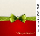 holiday background with green... | Shutterstock . vector #388616842