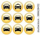 cars icon set with gold button... | Shutterstock . vector #388628452