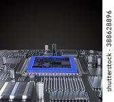 processor  microchip ...   Shutterstock . vector #388628896
