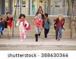 a group of elementary school... | Shutterstock . vector #388630366