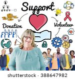 support charity donation...   Shutterstock . vector #388647982