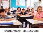 Smiling Elementary School Kids...