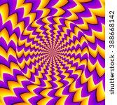 orange spin illusion