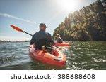outdoor shot of mature man... | Shutterstock . vector #388688608