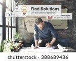 solution improvement progress... | Shutterstock . vector #388689436