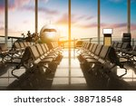 airplane  view from airport... | Shutterstock . vector #388718548