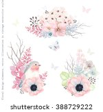 collection vector decorative... | Shutterstock .eps vector #388729222