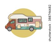 transport facility   caravan  ... | Shutterstock .eps vector #388746682