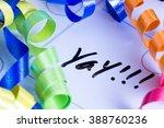 concept image for celebrating...   Shutterstock . vector #388760236
