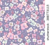 Rustic Seamless Pattern With...