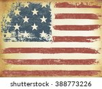 american themed flag background.... | Shutterstock .eps vector #388773226