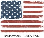 american flag grunge background.... | Shutterstock .eps vector #388773232