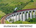 View On A Steam Train On The...