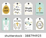 Easter Gift Tags With Cute...
