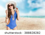 swimsuit. | Shutterstock . vector #388828282