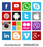 ������, ������: Collection of popular social