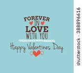 happy valentine day   Shutterstock .eps vector #388896616