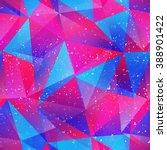 purple triangle seamless... | Shutterstock .eps vector #388901422