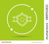 medal doodle | Shutterstock .eps vector #388902832