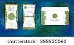 envelope and invitation for... | Shutterstock .eps vector #388925062