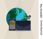 technology icon design  | Shutterstock .eps vector #388936768