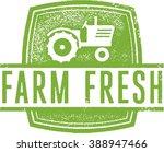 farm fresh market stamp | Shutterstock .eps vector #388947466