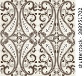 abstract seamless with paisley. ... | Shutterstock .eps vector #388951702