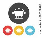 pot icon | Shutterstock .eps vector #388958902