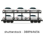 railway carriage train... | Shutterstock . vector #388964656