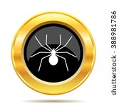 spider icon. internet button on ... | Shutterstock .eps vector #388981786