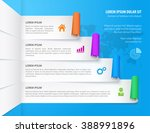 infographic design elements.... | Shutterstock .eps vector #388991896