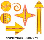 stylized illustration of a... | Shutterstock .eps vector #3889924