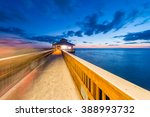 Jetty At Sunset  Fort Myers  ...