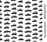 seamless car pattern on white... | Shutterstock .eps vector #389065345