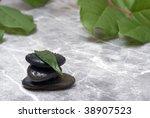 Therapeutic Stones - stock photo