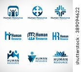 human resources  hr  logo...