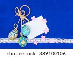 Blank  Greeting Easter Card...