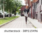 sightseeing in touristic city | Shutterstock . vector #389115496