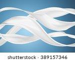 milk or white liquid splash on...   Shutterstock . vector #389157346