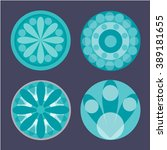abstract circles | Shutterstock .eps vector #389181655