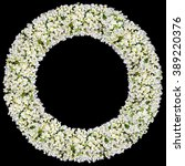 tragic round funeral buttonhole ... | Shutterstock . vector #389220376