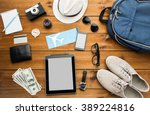 vacation  travel  tourism ...   Shutterstock . vector #389224816