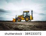 Yellow Bulldozer Overcome...