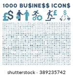 1000 business vector icons.... | Shutterstock .eps vector #389235742