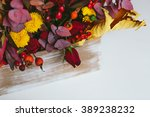 Red And Yellow Autumn Bouquet...