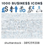 1000 business glyph icons.... | Shutterstock . vector #389259208